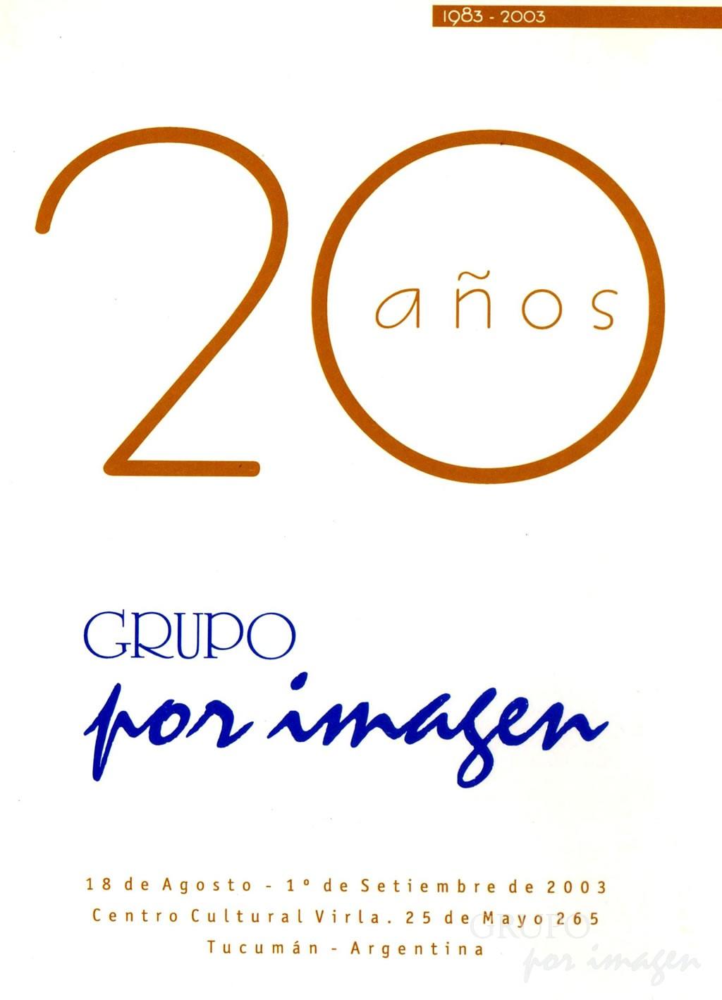 20 Años del Grupo Por Imagen