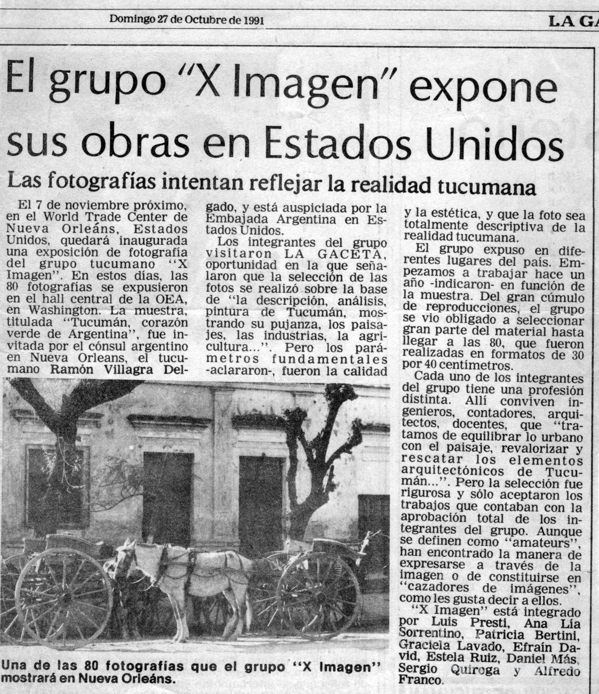 Grupo Por Imagen expone en Estados Unidos
