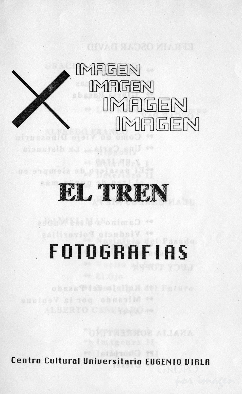 """Muestra """"El Tren"""""""