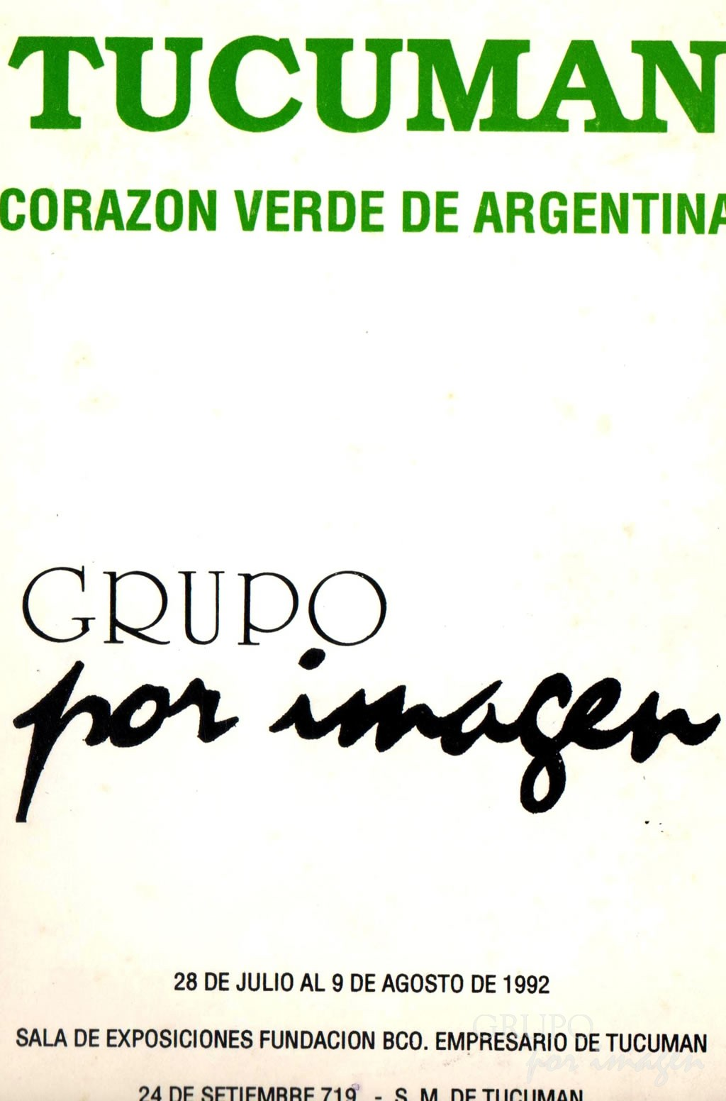 «Tucumán, Corazón Verde de Argentina»