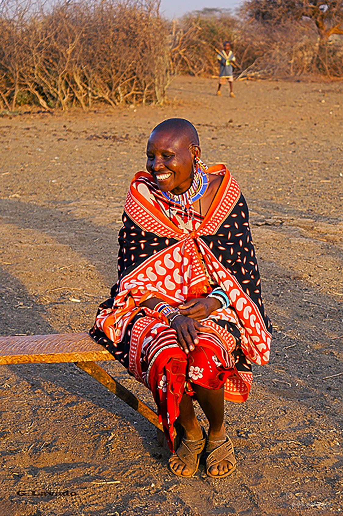 En la Tribu Massai – Kenya / Graciela Lavado