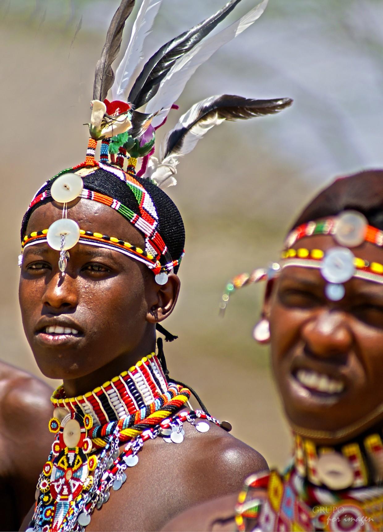 Guerreros Samburus – Kenya / Graciela Lavado