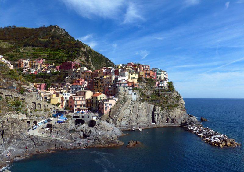Vistas de Cinque Terra – Liguria (Italia)