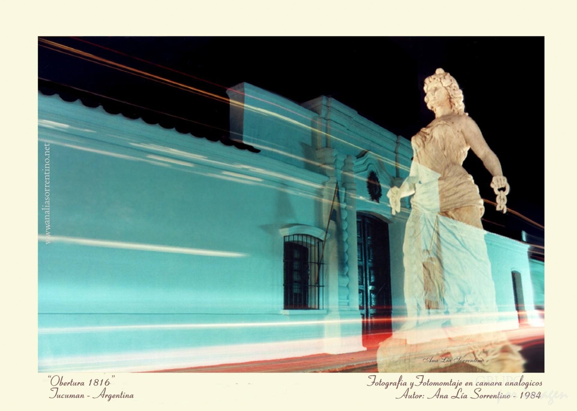 Arte Correo: Obertura 1816 / Ana Lía Sorrentino