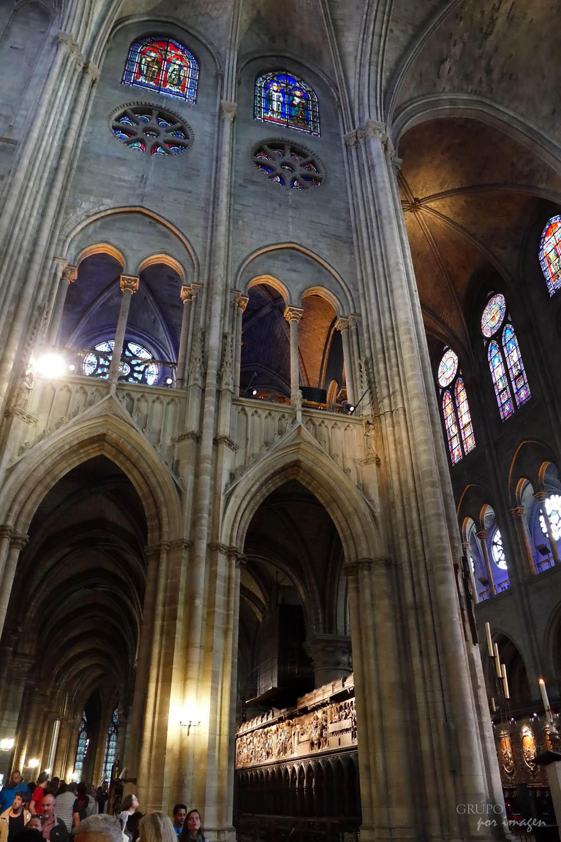 Notre Dame París web / Efraín David