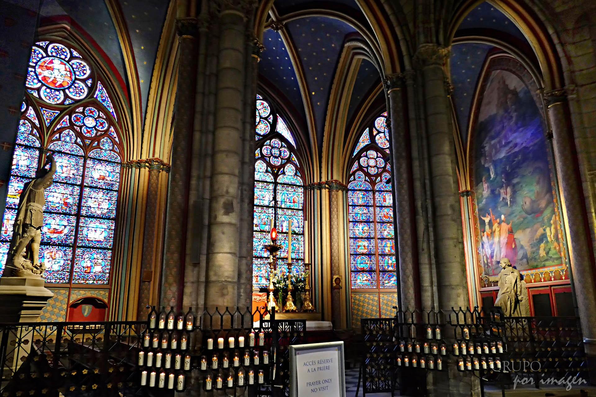 Notre Dame Paris web / Efraín David