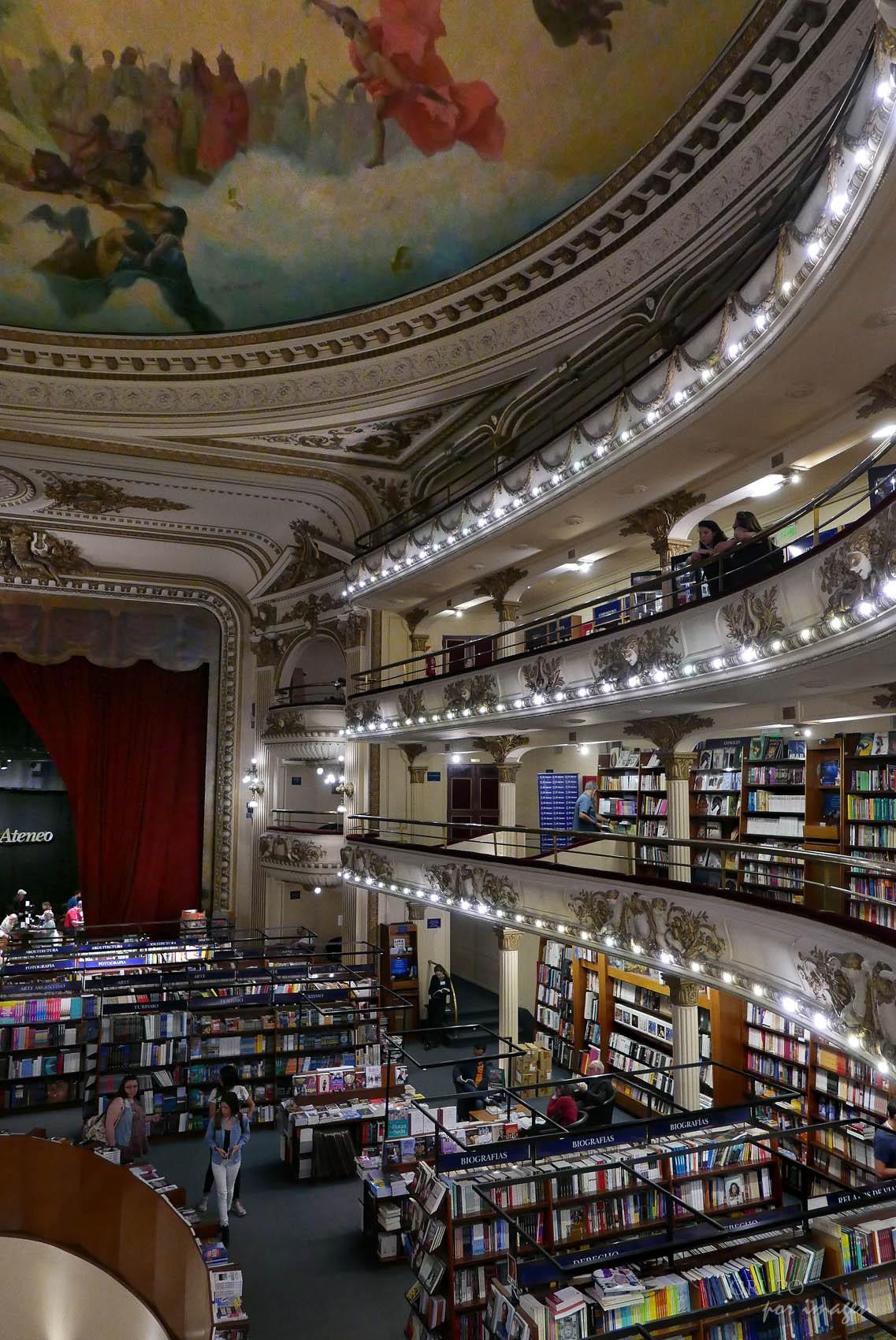 Librería El Ateneo / Efraín David