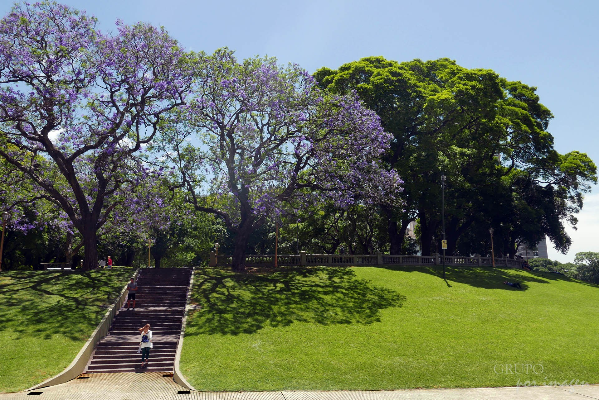 Plaza San Martín / Efraín David