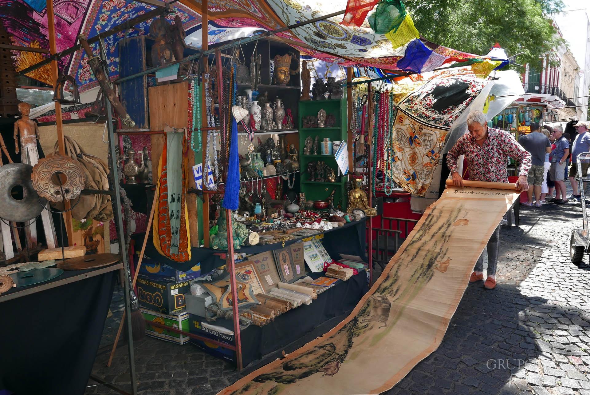 Feria de San Telmo / Efraín David