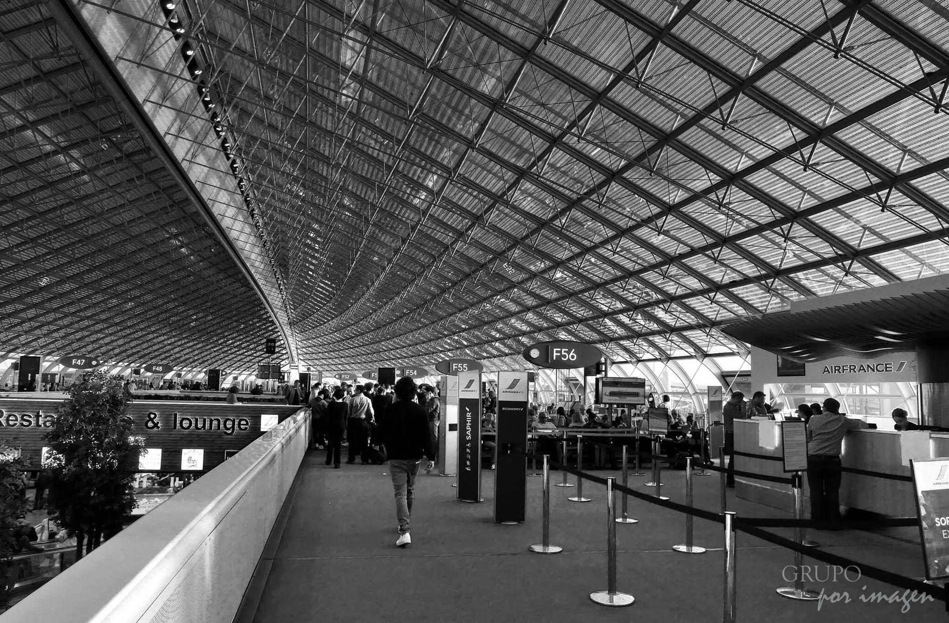 Aeropuerto Charles de Gaulle (París) / Efraín David