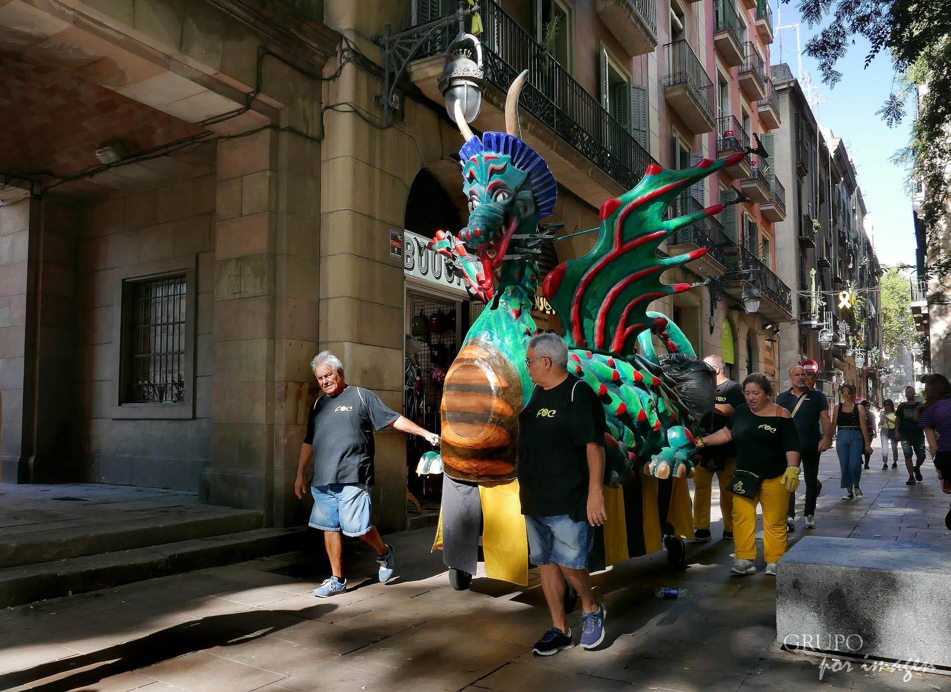Fiesta de La Mercé – Barcelona / Efraín David