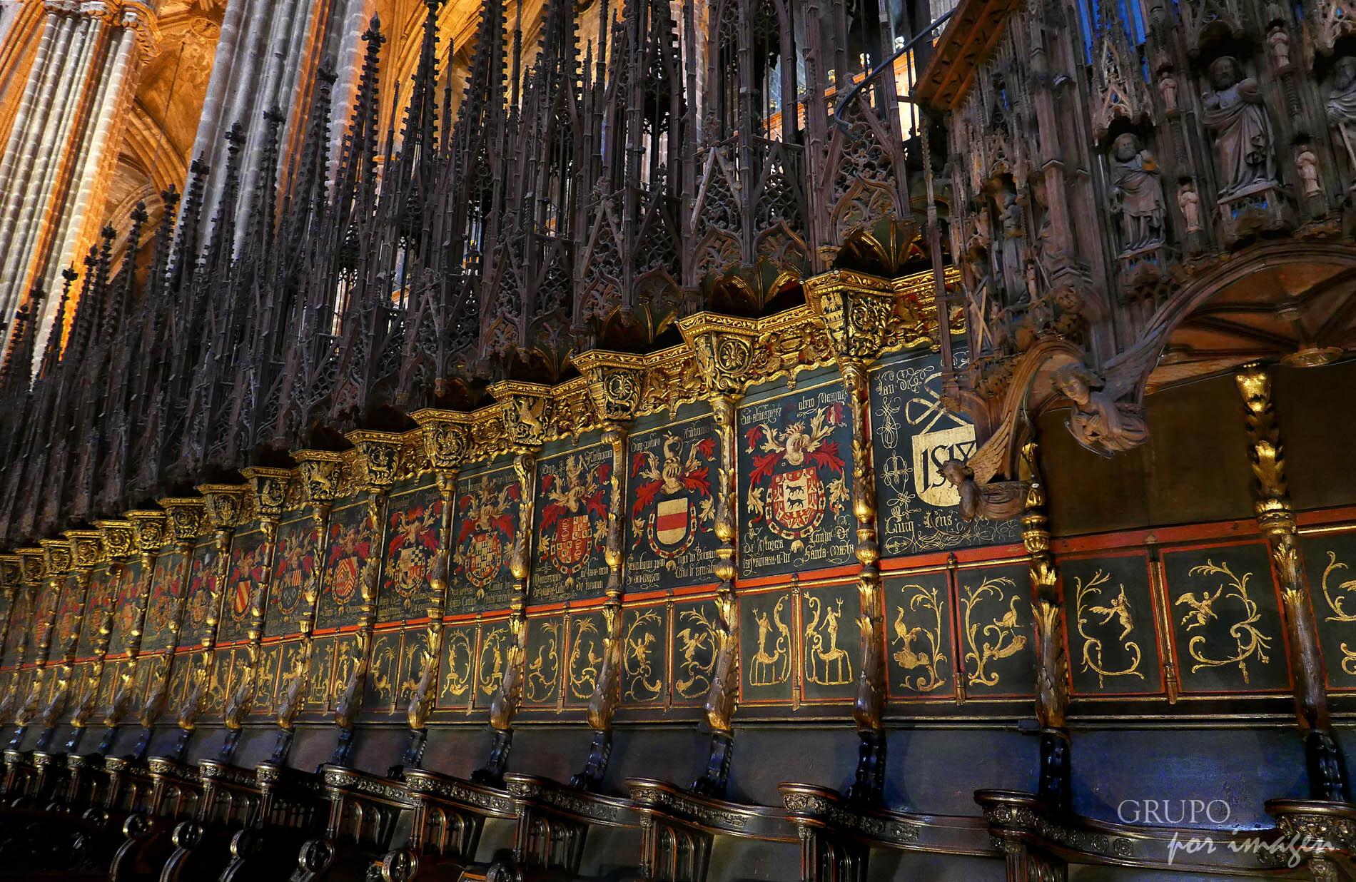 Catedral – Barcelona / Efraín David