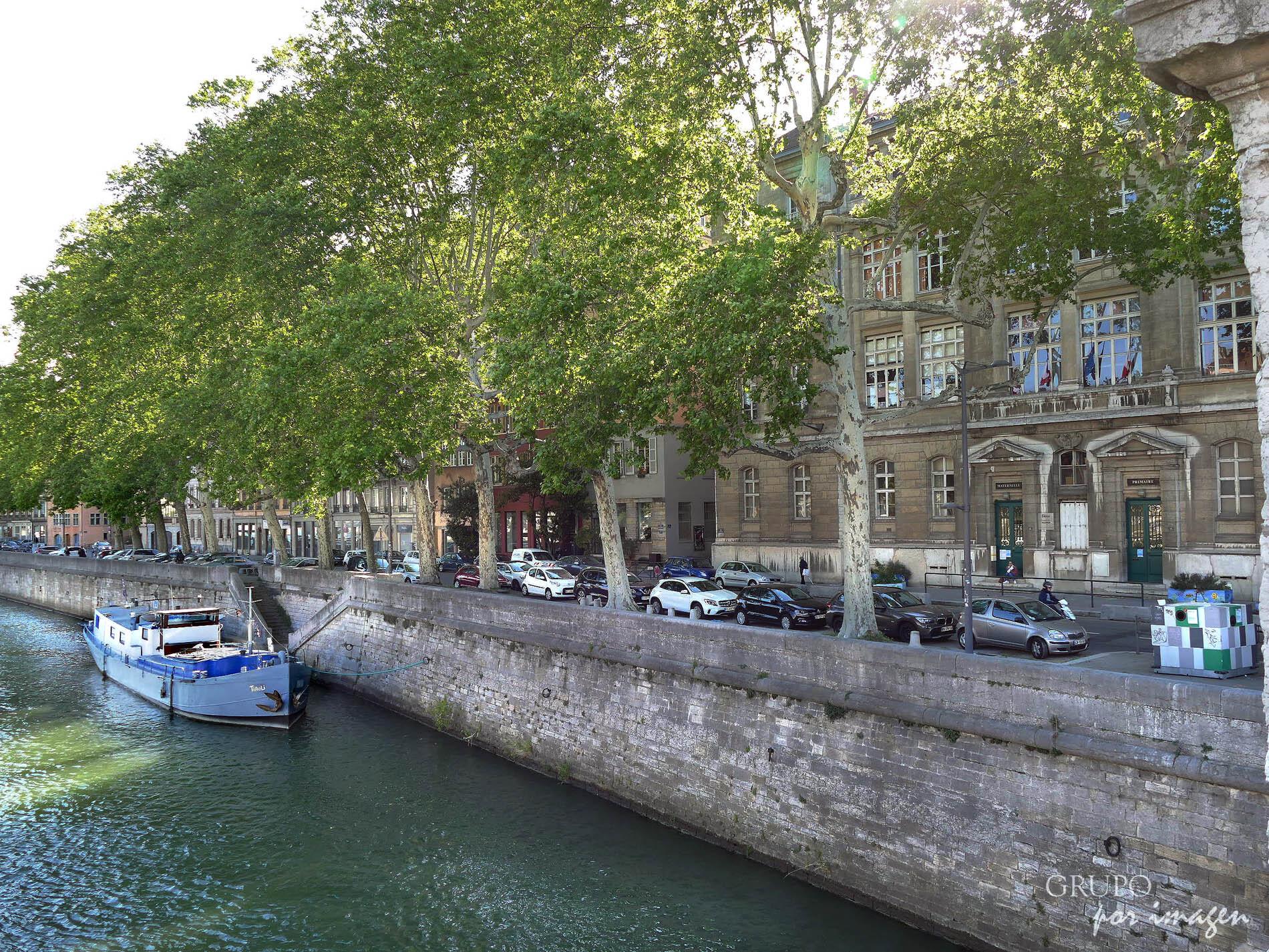 Lyon – Vista del río Saone TAB / Luis Cutín